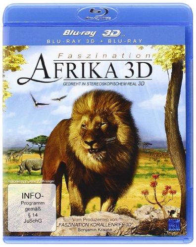 Faszination Afrika 3D 3D Version inkl 2D Version e 3D Lenticular Card 3D Blu ray Edizione Germania PDF