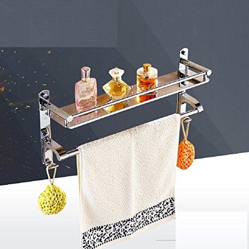 Edelstahl-Bad-Handtuchhalter-Regalwand-zwischen-Bad-Dusche-Badezimmerzubehr