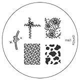 Konad Nail Art Image Plate M61 [Misc.]