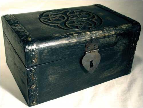 Treasure Chest Hecate Triple Pentagram