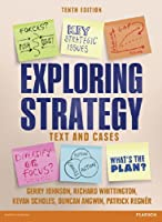 Exploring Strategy Text & Cases, 10th Edition Front Cover