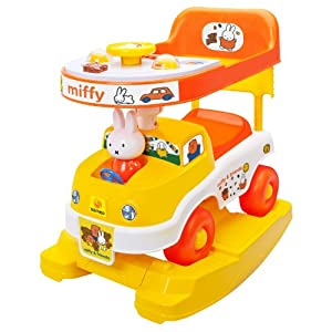 Flat 60% Off on Sameo Miffy 3-in-1 Baby Ride-On Car