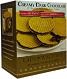 Lady Walton's, Creamy Dark Chocolate Filled Butter Wafer Cookies
