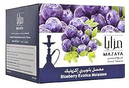 Mazaya Hookah Shisha Tobacco 1kg, Free Shipping (Blueberry Exotica)