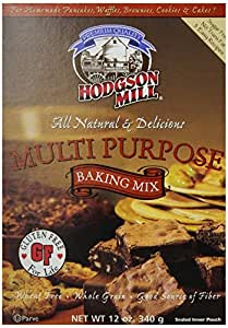Hodgson Mill Gluten Free Multi Purpose Baking Mix, 12-Ounce Units (Pack of 6)