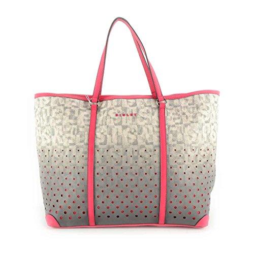 Borsa donna shopping Sisley - Linea Bice - Colore Fucsia
