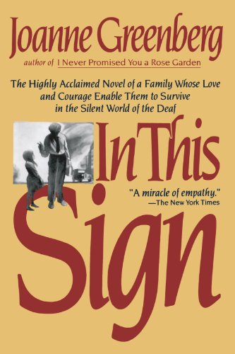 In This Sign: The Highly Acclaimed Novel of a Family...
