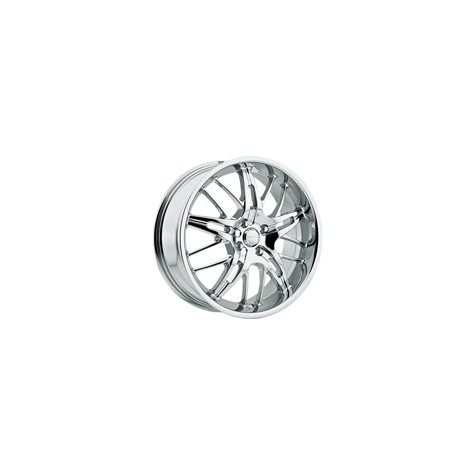 Menzari Domine 20x7.5 Chrome Wheel / Rim 5x4.5 with a 35mm Offset and a 74.10 Hub Bore. Partnumber Z07275545+35C