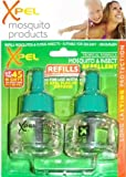 Xpel Tropical Formula Mosquito & Insect Repellent Refills 2 x 35ml For Plug-in Diffuser