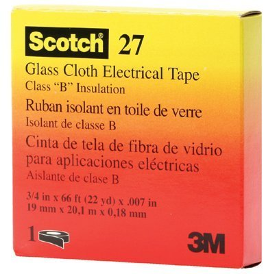 3M Electrical - 27 3/4X66 Scotch Glass Cloth Tape - 500-15074