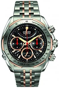 Citizen Signature MenÕs Flyback Chronograph Eco-Drive Watch - AV1016-57E