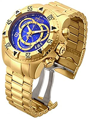 Invicta Men's 80621 Excursion Quartz 3 Hand Blue Dial Watch