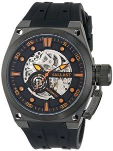 Ballast Men's BL-3105-03 Valiant Analog Automatic Self-Wind Black Watch