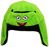 Disney Men's Muppets Kermit Reversible Trapper