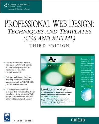 Professional Web Design Techniques And Templates Edition