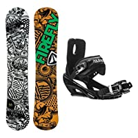 Firefly Obsession Stealth 3 Snowboard and Binding Package by Firefly