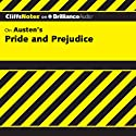 Pride and Prejudice: CliffsNotes (       UNABRIDGED) by Marie Kalil, M.A. Narrated by Ellen Grafton