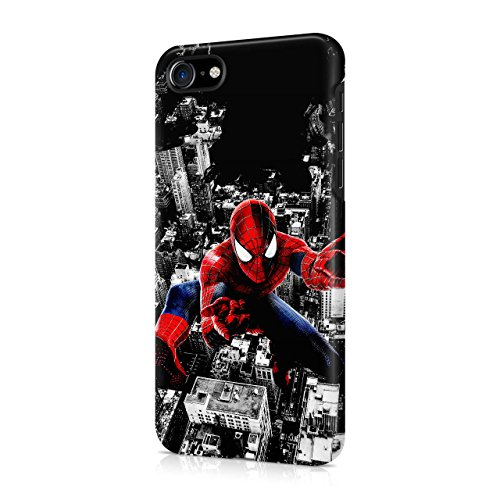 Spiderman Cityscape Hard Snap-On Protective Case Cover For Iphone 7