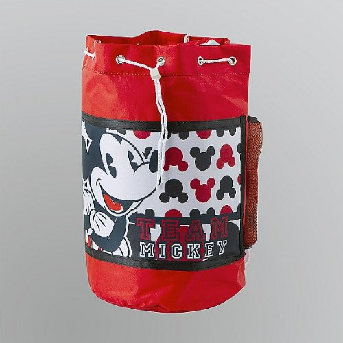 Disney Mickey Mouse Slumber Sleeping Duffle Bag And Flashlight