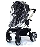 Tippitoes Toto Stroller Raincover Professional Heavy Duty Rain Cover