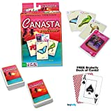 Canasta Caliente w/ FREE Deck of Playing Cards