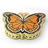 Jaipur RagaBeautiful Jaipuri Butterfly Shape Jaipuri Gold Minakari Dryfruit Box