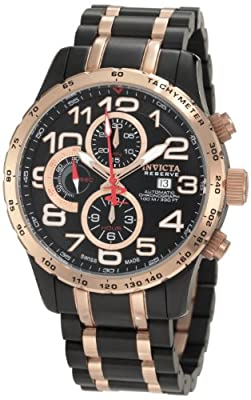 Invicta Men's 0593 Reserve Automatic Chronograph Two Tone Stainless Steel Watch by Intl Task Force on Euthanasia &