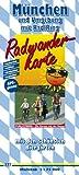 München und Umgebung mit RadlRing: Radkarte mit den schönsten Biergärten, wetterfest, reissfest, abwischbar, GPS-genau. 1:75000 (Radkarte / RK) title=
