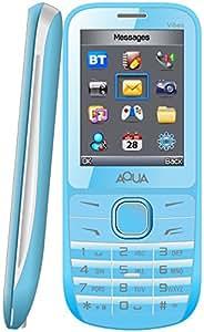 "Aqua Vibes 2.4"" Dual SIM Basic Mobile Phone Blue"