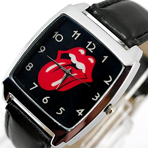taportr-rolling-stones-quartz-square-watch-black-real-leather-band-free-spare-battery-free-gift-bag