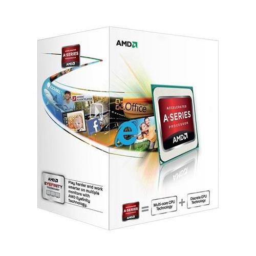 AMD AD4000OKHLBOX - FM2 A4-4000 3.20 GHz Processor процессор amd a4 4000 box ad4000okhlbox