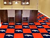 NFL - Denver Broncos Carpet Tiles (Please see item detail in description) at Amazon.com