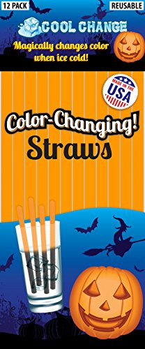 Cool Change Straws - Halloween Party Favorite