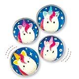 Balles-Rebondissantes-Licornes-Arc-en-ciel-Jeu-pour-Enfant-Parfait-pour-les-Pochettes-surprises-Lot-de-8