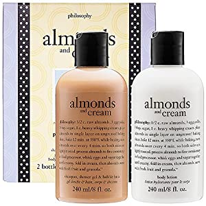 Philosophy Almonds and Cream 2 Piece Set Includes: 8.0 oz Shampoo