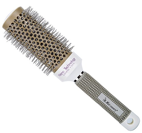 Minalo Anti Static Nano Ionic & Thermic Ceramic Hair Brush,Barrel Round,2 inch (Hair Dryer With Roller Brush compare prices)