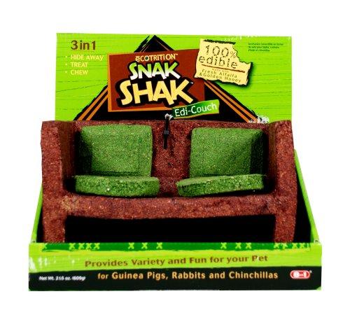 eCOTRITION Snak Shak Large Couch - Guinea Pig/Rabbit