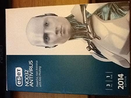 ESET NOD32 Antivirus 2014 Edition - 3 Users