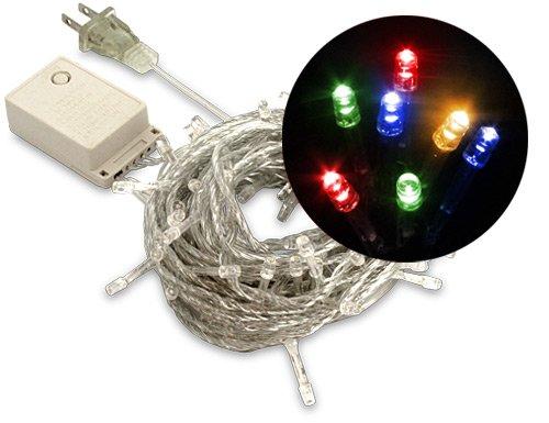 Led Christmas Lights (100 Leds, 10 Meters), Multi-Colored