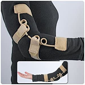 Freehand DEX Dynamic Extension Elbow Brace - M L, Fits most men and larger women by Rolyn Prest