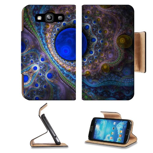 Pattern Colourful Blue Ball Samsung Galaxy S3 I9300 Flip Cover Case With Card Holder Customized Made To Order Support Ready Premium Deluxe Pu Leather 5 Inch (132Mm) X 2 11/16 Inch (68Mm) X 9/16 Inch (14Mm) Liil S Iii S 3 Professional Cases Accessories Ope