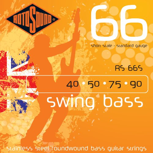 Rotosound RS66S Swing Bass 66 Stainless Steel