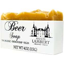 Organic Beer Soap - Beer Soap - Soap for Men - Natural Soap - Organic Skin Care - Mens Soap, Boyfriend Gift, Mens Gifts, Fathers Day Gift.