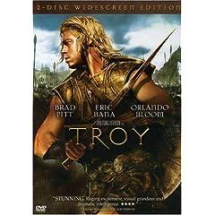 Troy, o DVD