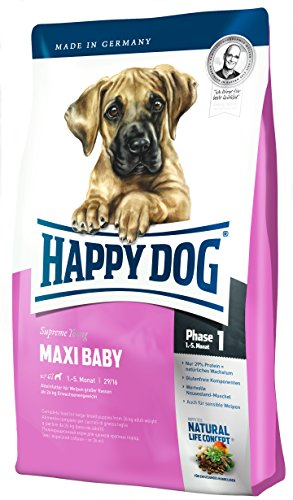 Happy Dog Supreme Young Maxi Baby, 300g, 10er Pack (10 x 300 g)