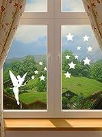 Ambiance-Sticker Vinilo Adhesivo Hadas Y Estrellas