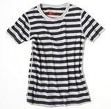 感覚・触覚過敏症、アトピー用 子供服:ナチュラルTシャツ:ボーダー