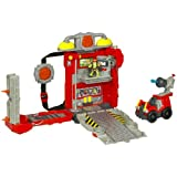 Playskool Adventure Heroes - Fire Hero on-the-go truck & figure included