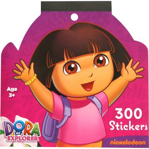 Nickelodeon Dora Jumbo Sticker Book, 300 Stickers