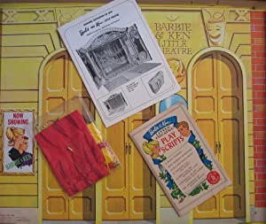 Barbie and Ken Little Theater Playset w Original Box (1964 Mattel Hawthorne)